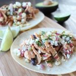Mexican Chicken Salad Tacos