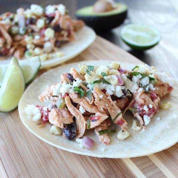 Gluten Free Chicken Salad Tacos