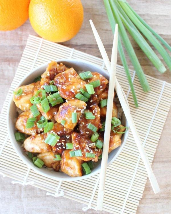Gluten Free Chinese Orange Chicken Recipe
