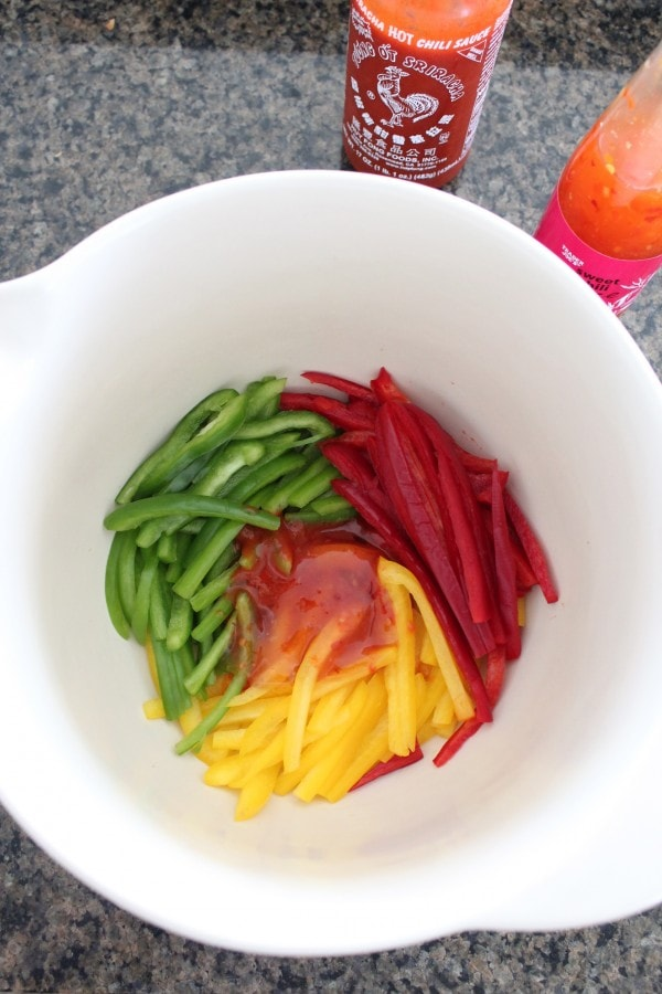 Bell Pepper Slaw Recipe