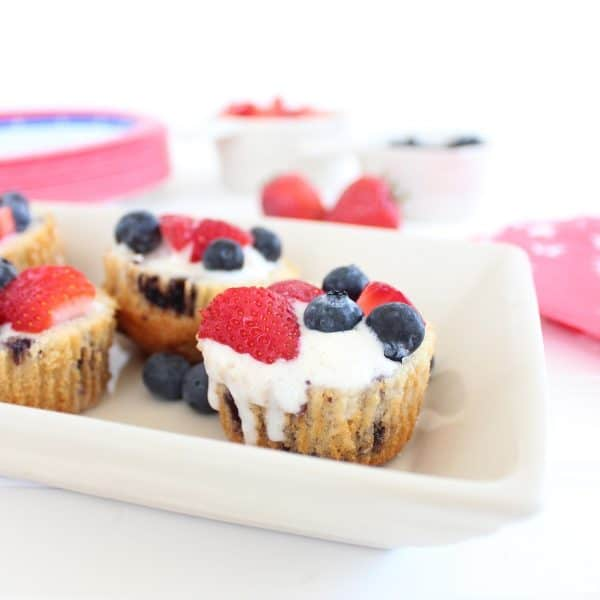 Blueberry Muffin Gluten Free Dessert Cups