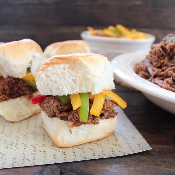 Thai Beef Sliders