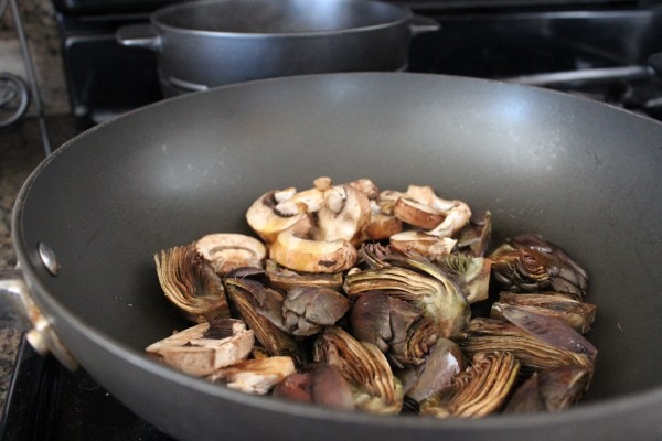 Artichoke Mushroom Risotto Recipe