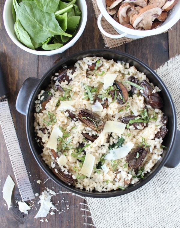Vegetarian Mushroom Risotto