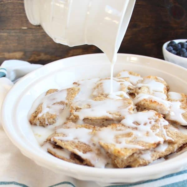 Gluten Free French Toast Cinnamon Roll Casserole