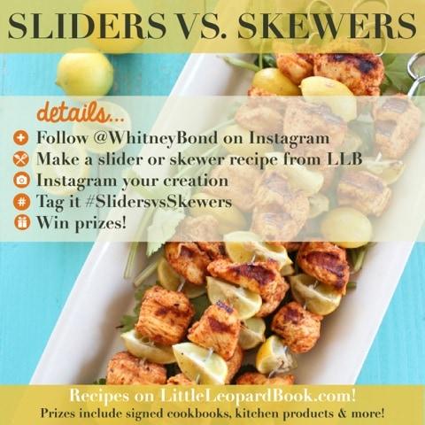 Sliders vs Skewers Instagram Contest