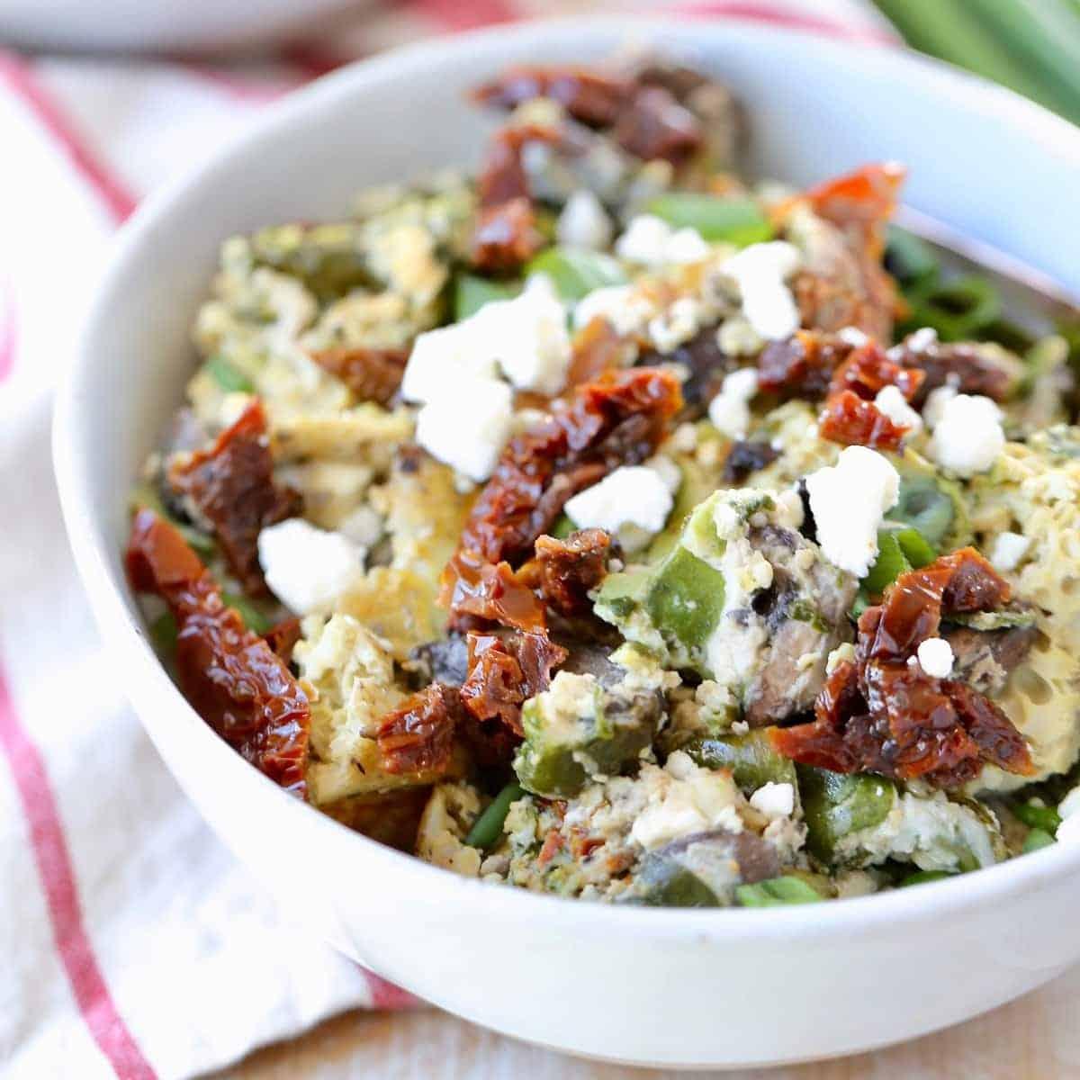 Crockpot Breakfast Casserole Vegetarian Gluten Free Recipe
