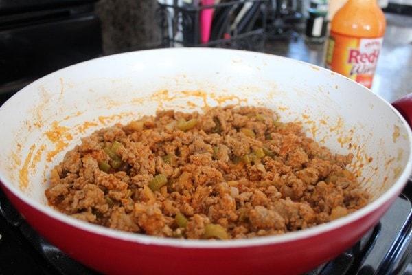 Buffalo Turkey Flatbread Recipe