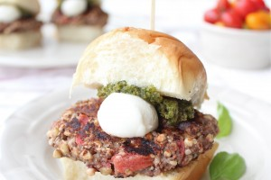 Veggie Burger Sliders