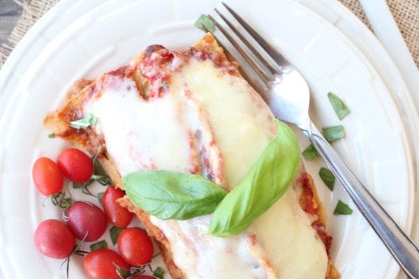 Gluten Free Italian Enchiladas