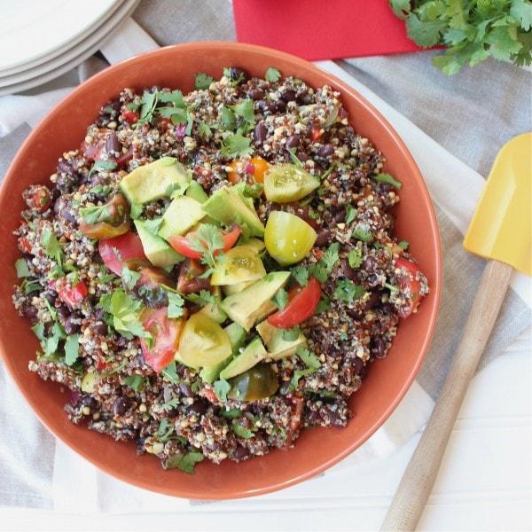 Gluten Free Mexican Quinoa Salad