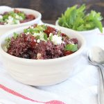 Roasted Tomato Blueberry Quinoa Salad