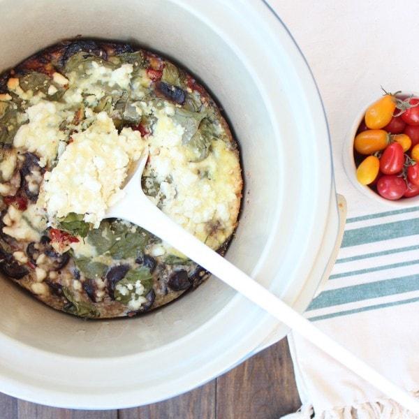 Gluten Free Crockpot Breakfast Casserole
