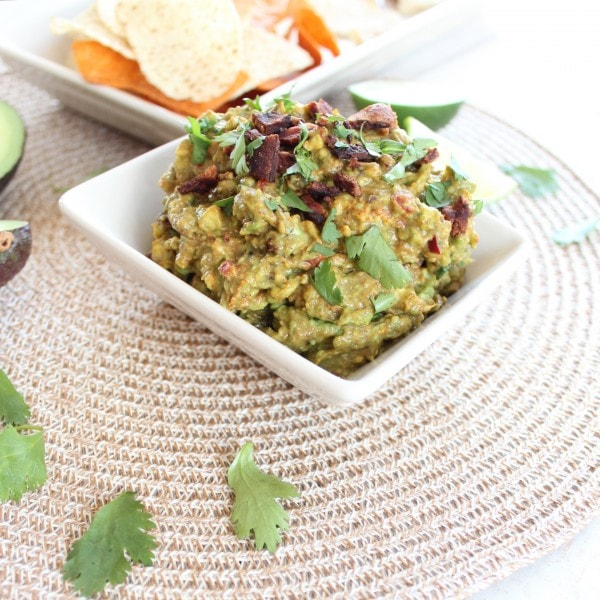 Chipotle Guacamole with Bacon