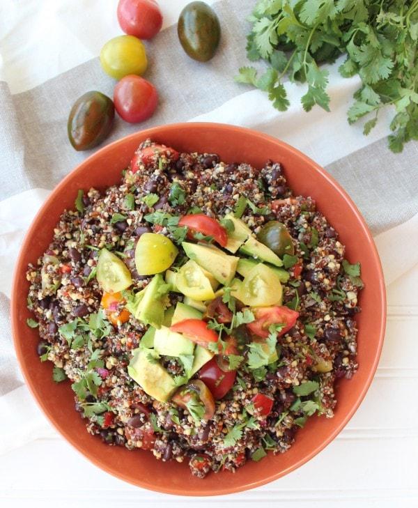 Mexican Chia Seed Quinoa Salad