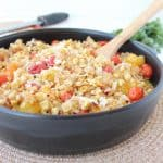 Roasted Corn and Tomato Risotto