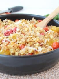 Roasted Tomato and Corn Risotto