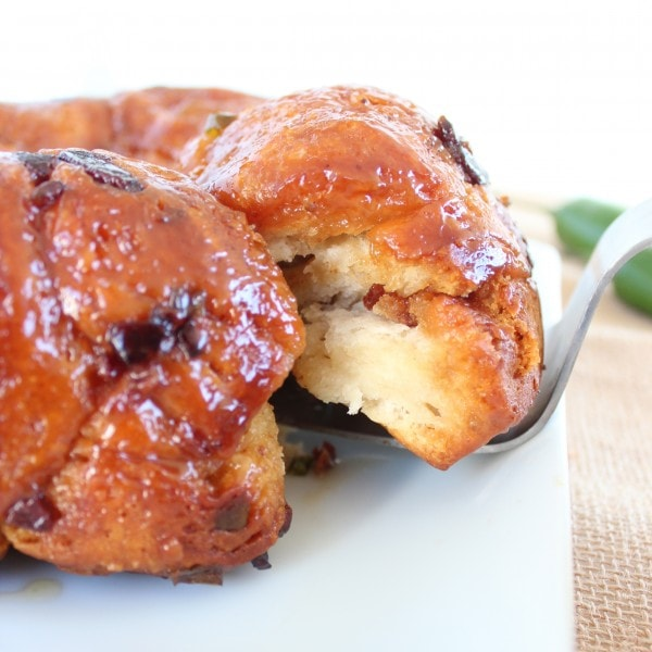 Bacon Jalapeño Honey Monkey Bread