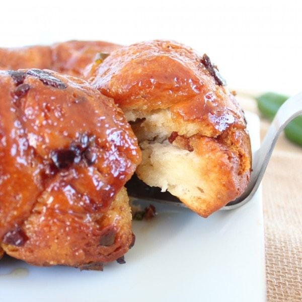 Bacon Jalapeño Honey Monkey Bread