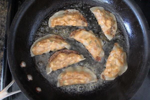 Thai Peanut Chicken Pot Stickers Recipe