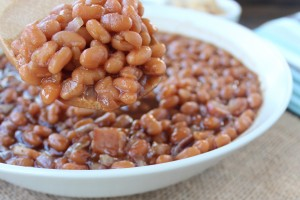 Brown Sugar Coffee Baked Beans