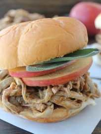 Pumpkin Pulled Pork Sandwich