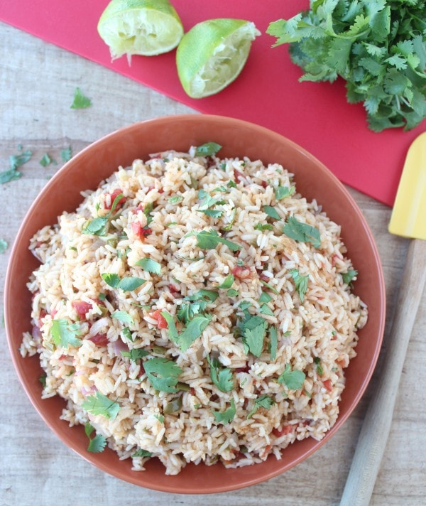 Gluten Free Mexican Rice