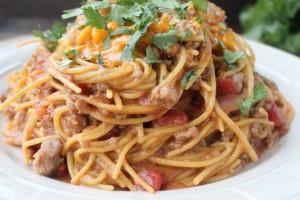 Gluten Free Taco Spaghetti Recipe
