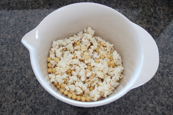 Peanut Butter Popcorn Ball Recipe