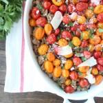 Italian Polenta Turkey Casserole