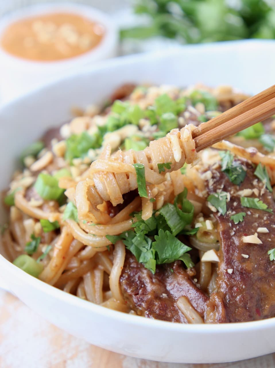 Thai Beef Noodle Bowl Recipe - WhitneyBond com
