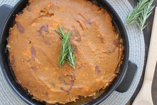 Gluten Free Sweet Potato Shepherds Pie