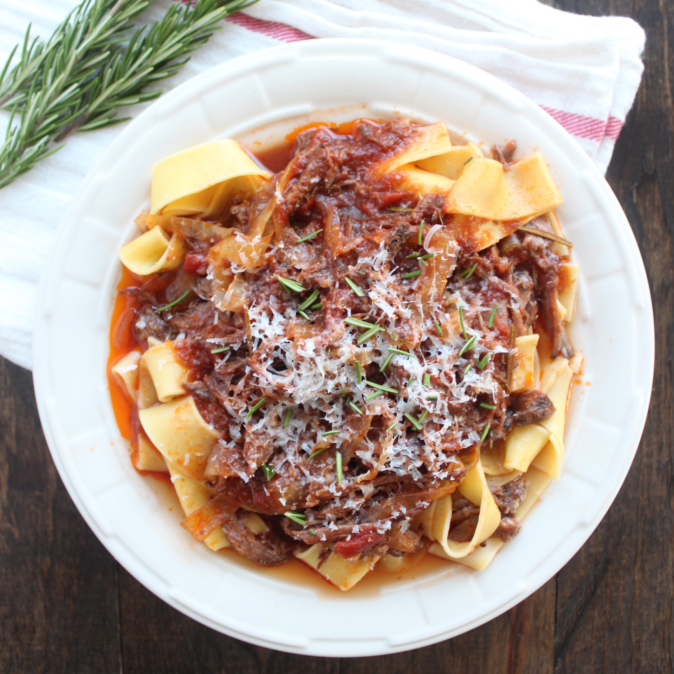 Slow Cooked Beef Ragu - Little Leopard Book