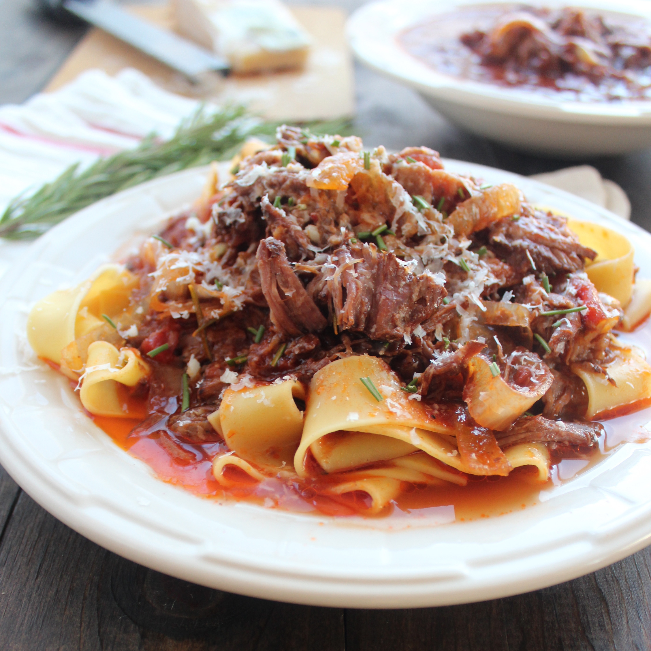 free beef ragu recipe has a ton of flavor with only a few, simple ...