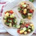 Pineapple Sriracha Tri Tip Tacos