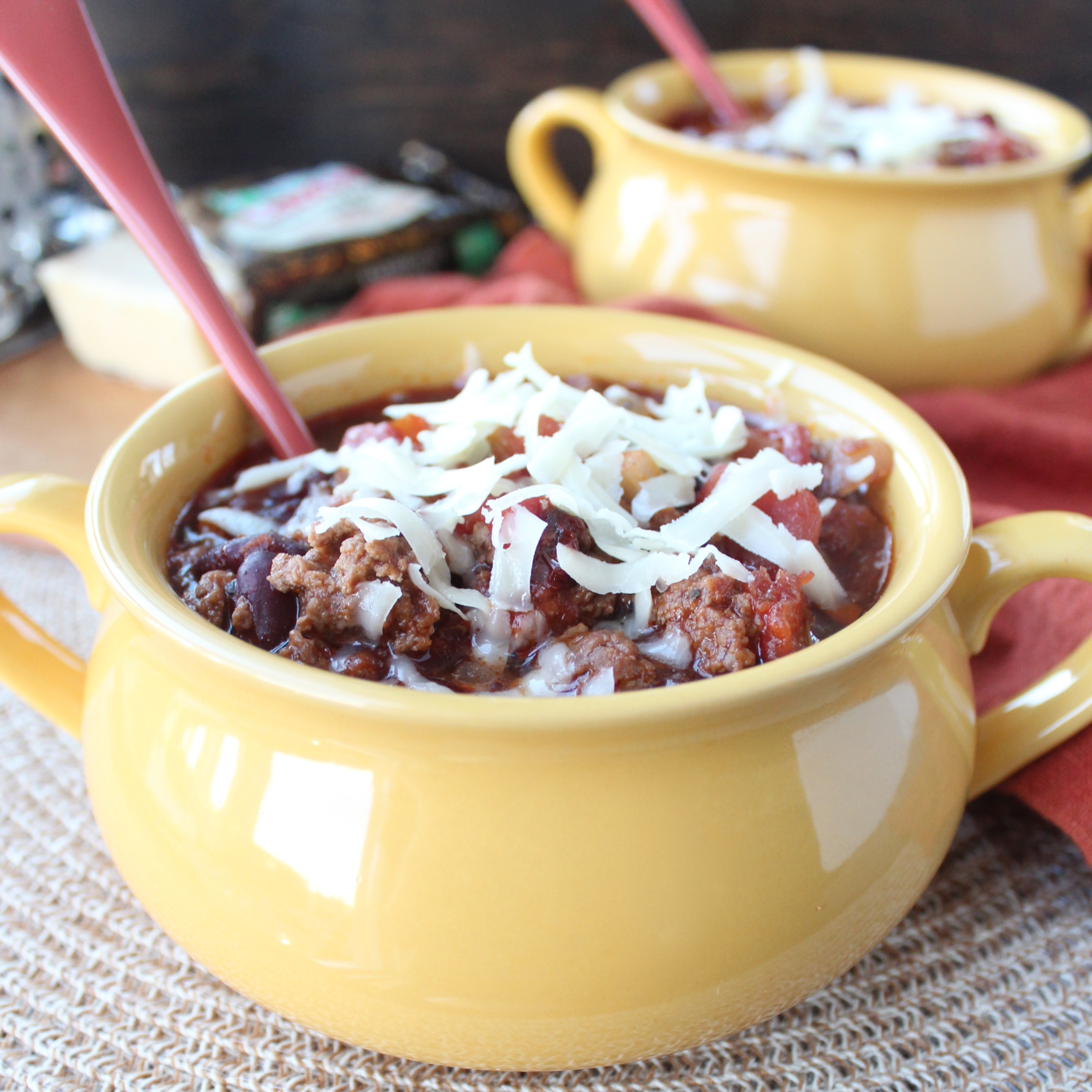 Chipotle Stout Crock Pot Chili