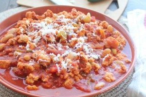 Buffalo Chicken Chili Recipe