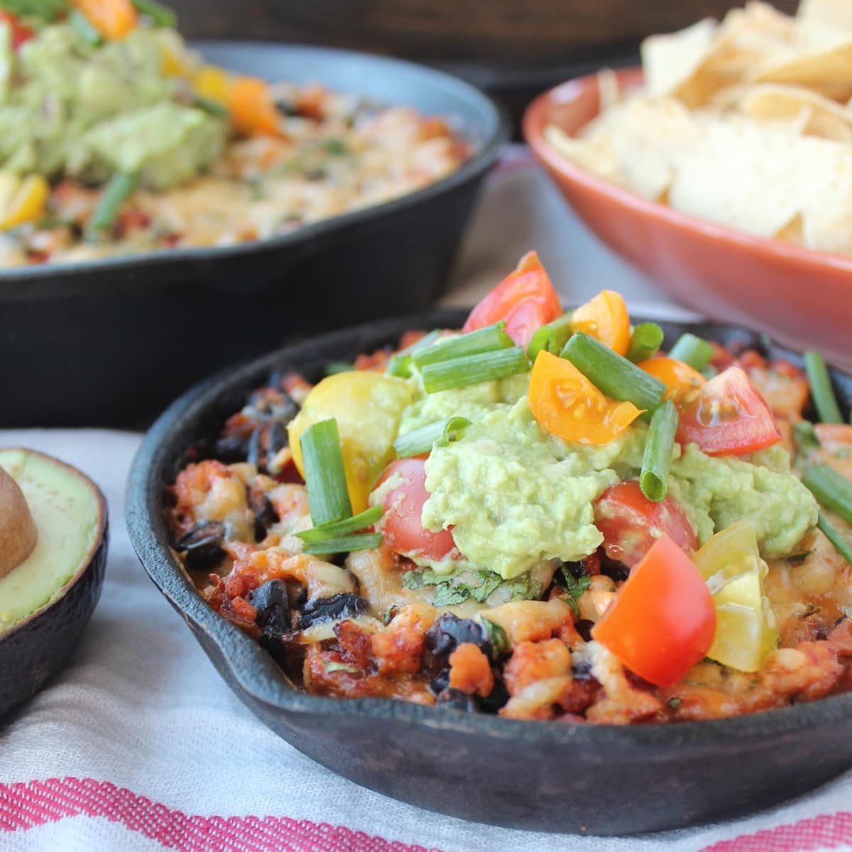 Cheesy Baked Taco Dip | Little Leopard Book
