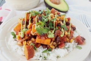 Gluten Free Mexican Sweet Potato Casserole