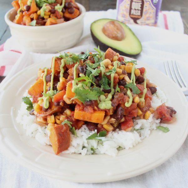 Gluten Free Mexican Sweet Potato Casserole