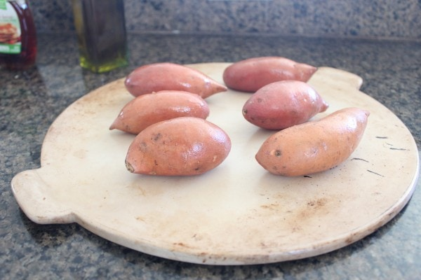 Cranberry Pancetta Sweet Potato Skins Recipe