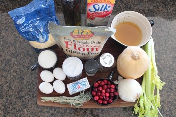Gluten Free Cornbread Stuffing Ingredients