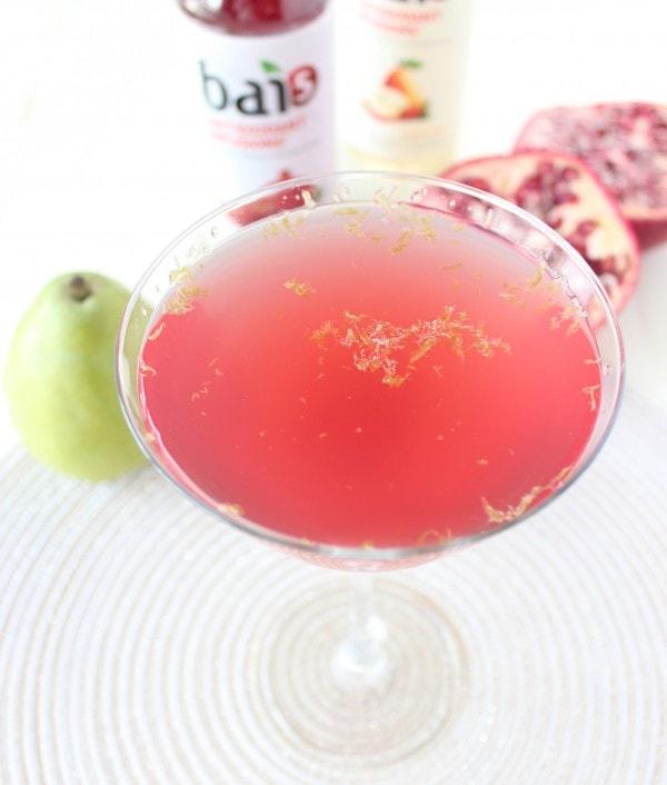 Pear Pomegranate Martini