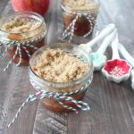 Gluten Free Mason Jar Apple Crumble