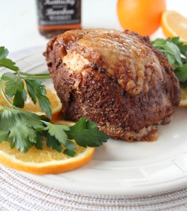 Orange Bourbon Crock Pot Turkey Breast
