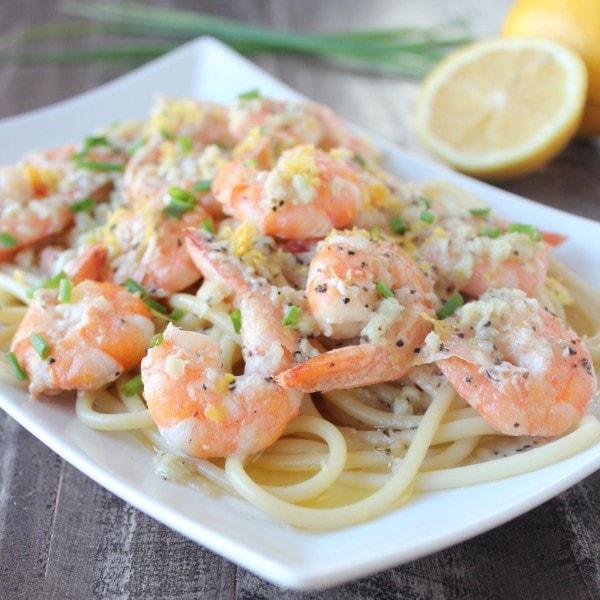 Dairy Free Garlic Butter Shrimp Recipe