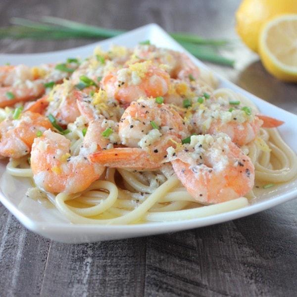 Lemon Butter Garlic Shrimp Recipe