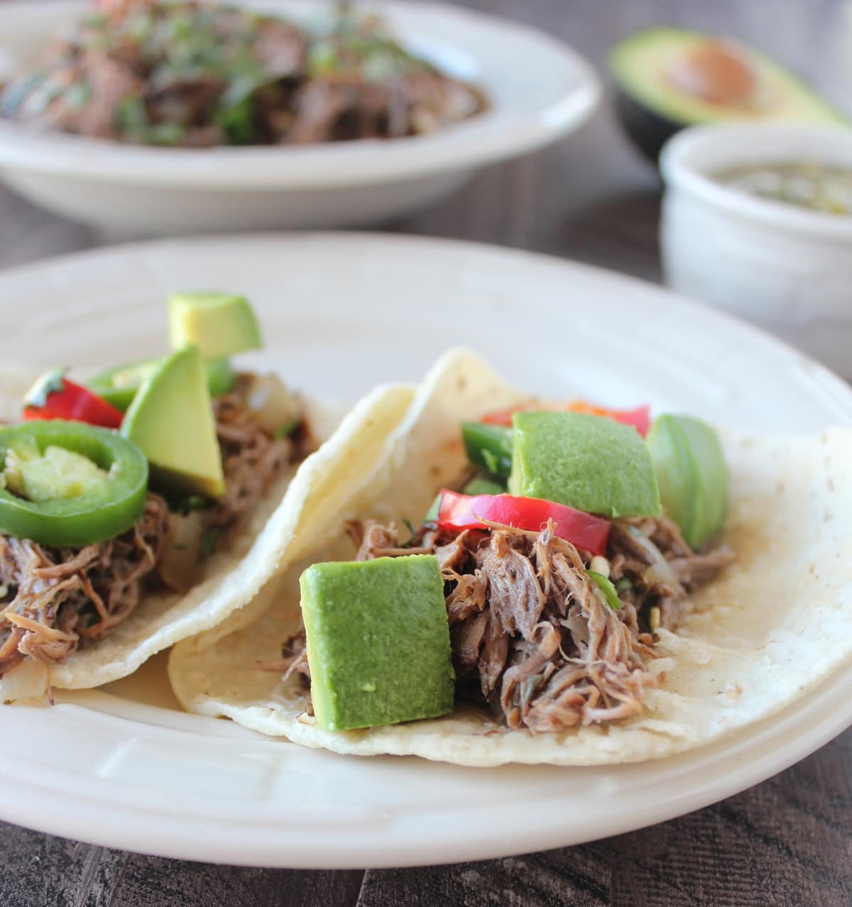 Slow cooked beef barbacoa is an easy, gluten free meal to make at home ...