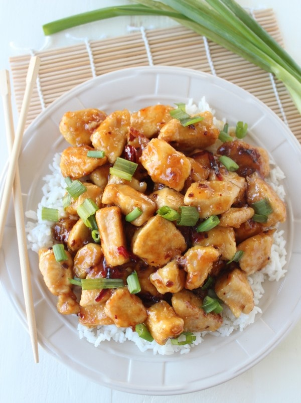 Gluten Free Chinese Orange Chicken Recipe