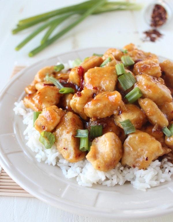 Gluten Free Chinese Honey Chicken | Little Leopard Book